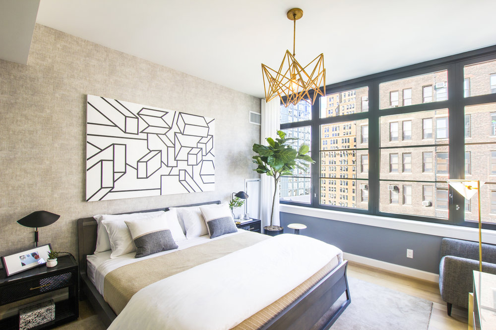 Update: The Noma - March 20, 2018We visited the first completed model apartment at The Noma and needless to say it did not disappoint! The sun poured through custom Skyline windows providing natural light throughout the brand new, beautifully staged condo. Click the photo for the full reveal.