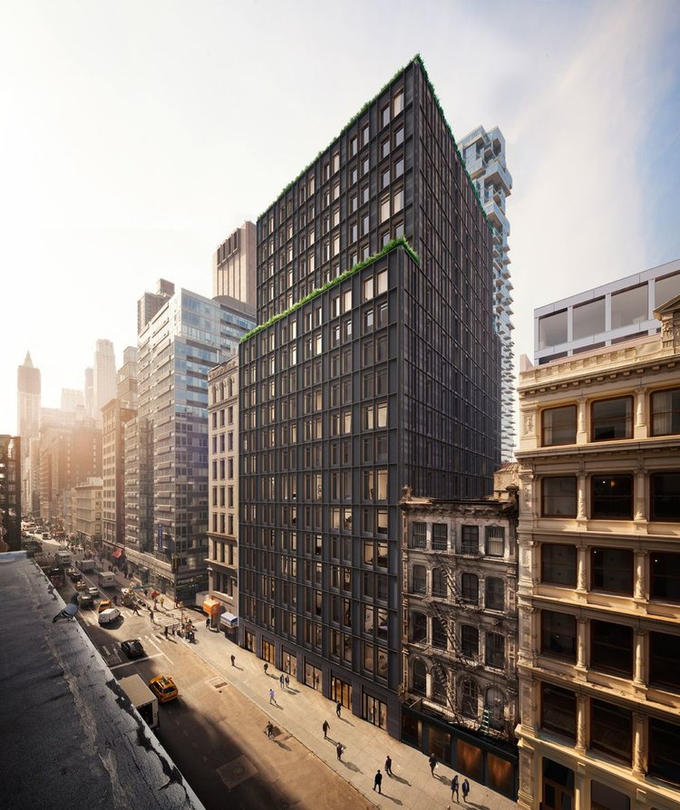 Sales Are Officially Underway At 91 Leonard Street - October 25, 2017Sales have launched at the newly developed Tribeca condominium 91 Leonard Street, where Skyline is manufacturing and installing our Series 1200-4 Tilt & Turns and 1700-4 Doors.Click on the photo to get an inside look at the impeccably designed 19-story building.{ Via curbed.com }