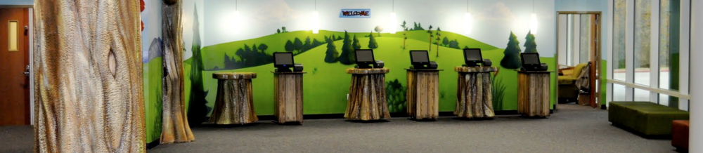 Something as simple as seeing a kiosk style check-in system can reassure parents.