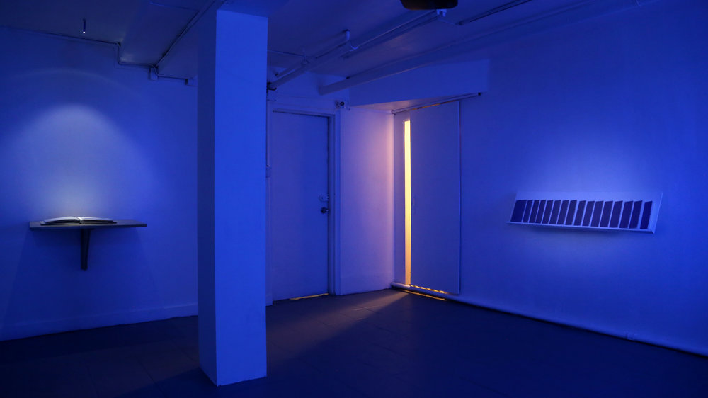 Prosthetic Knowledge of the Dignity Image Installation view (Sleep Center, New York, NY)
