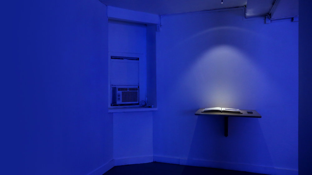 A Refusal,  2015-2016  Installation view (Sleep Center, New York, NY)