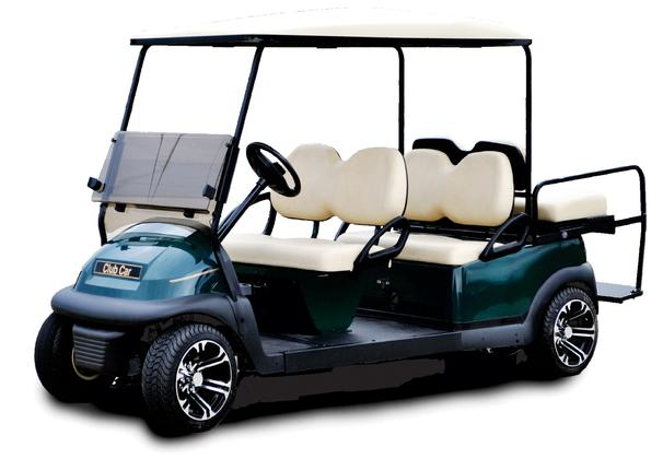 Park Model 6P Stretch — Stadium Golf Carts on golf cart body, golf cart skirt, golf cart axle shaft, golf cart width, golf cart cushion covers, golf bag back cushion, golf cart seat, golf cart frame,