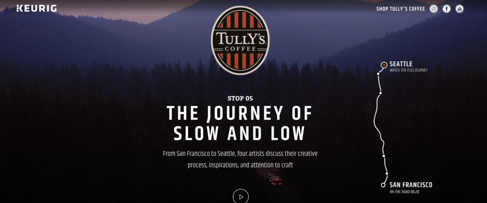 TULLYS SLOW AND LOW
