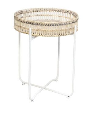 Exton Rattan Side Table