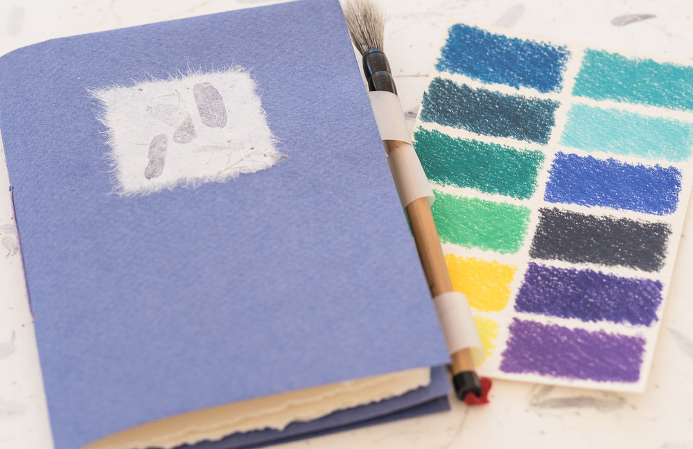 Watercolour Pamphlet Book with Palette