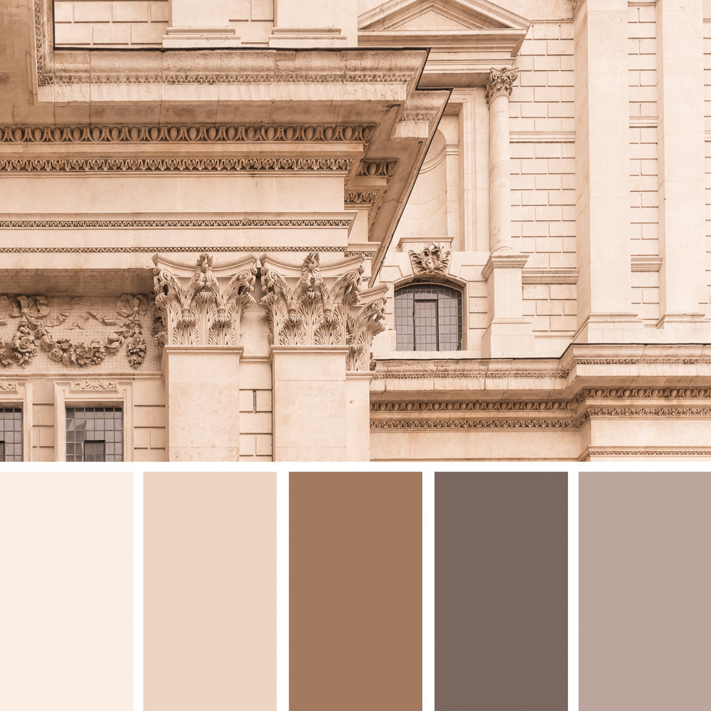 St Paul's Cathedral, London colour palette Bernadette Meyers