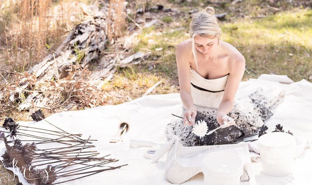 artist at work-Bernadette-Meyers-photographer