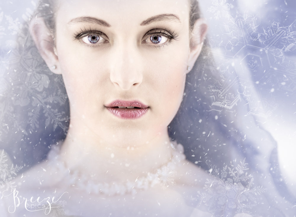 Ice Fairy Composite Portrait, Breeze Pics, Bernadette Meyers