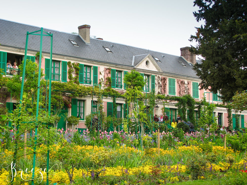 art, art appreciation, fine art, Paris, Breeze Pics, travel photographer, Bernadette Meyers, Giverny