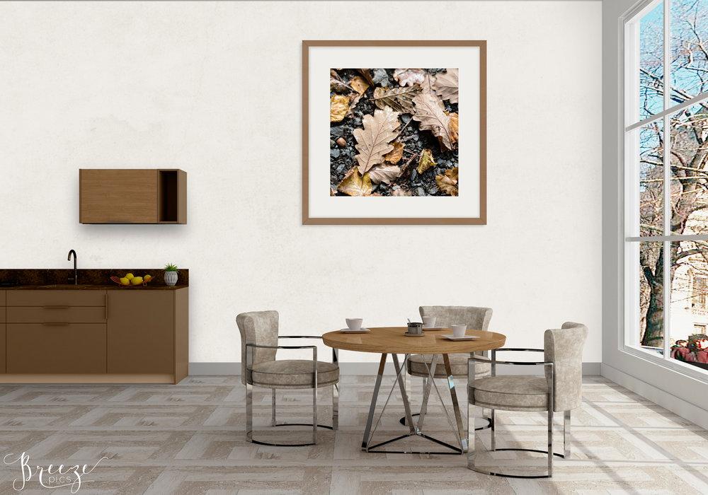 Earth toned fine art macro nature photograph, home decor prints, Breeze pics