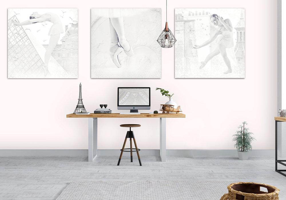 Creating a creative mood, dance wall art, Bernadette Meyers