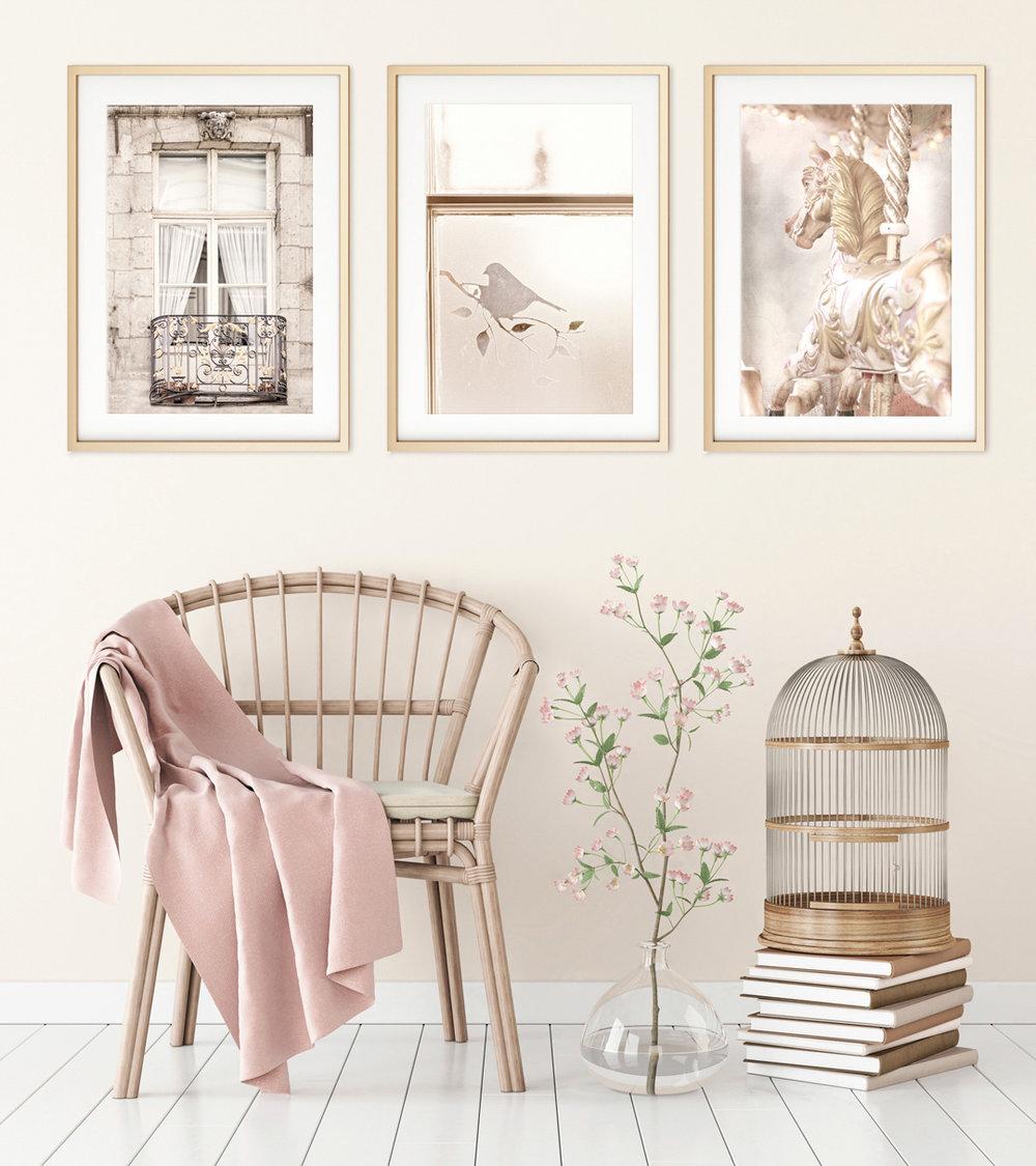 Creating a serene mood, wall art, Bernadette Meyers