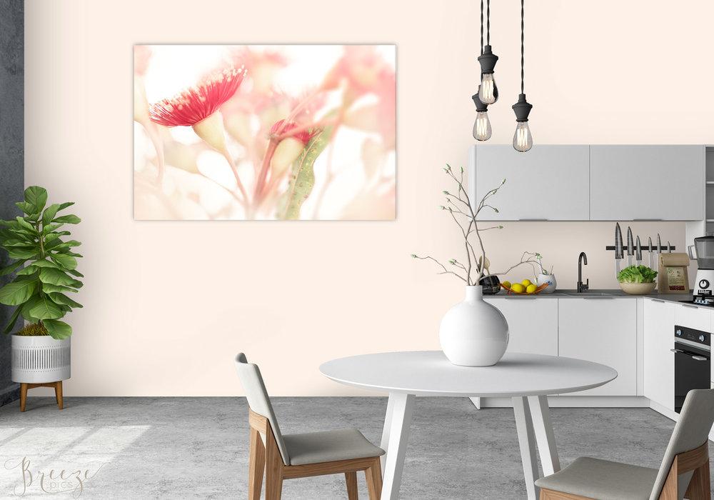 Eucalyptus Kitchen Mockup Limited Edition Fine Art Limited Edition Print, Breeze Pics