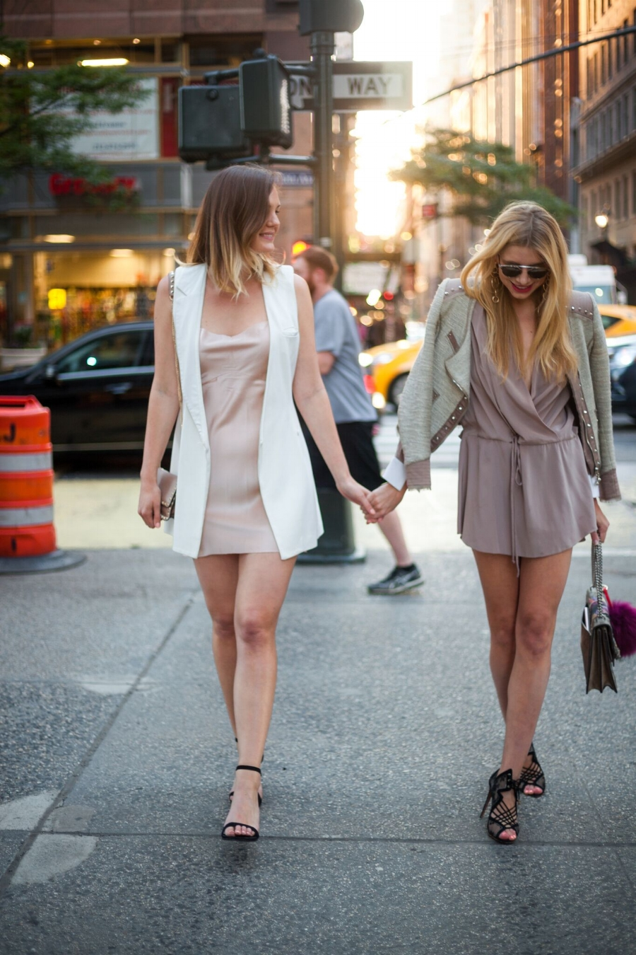 Kelsey (Left) : Black Shoes, Stuart Weitzman
