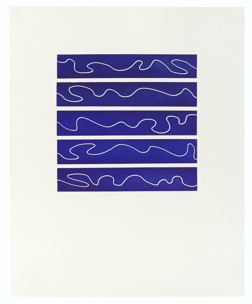 Untitled, 2012, Aquatint, 18 x 26 inches