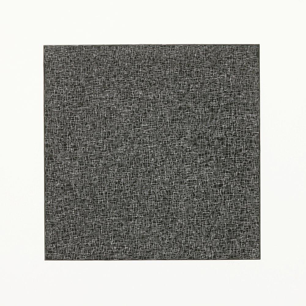 Untitled ,2016, Aquatint, 25.5 x 25.5 inches