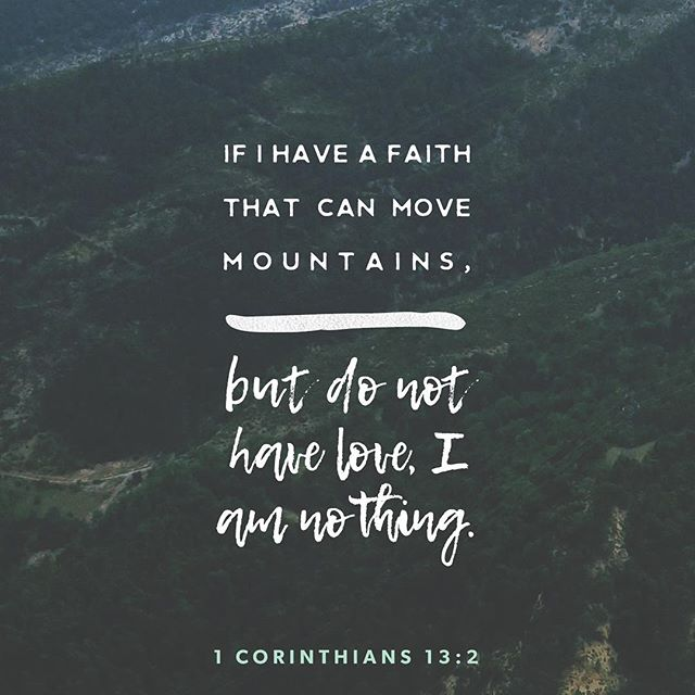 Faith without love is nothing. | 1 Corinthians 13:2  #jaxnazchurch