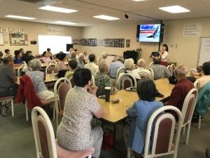 Connie Tsai, Acupuncture Health talk at TASS in Walnut Creek,CA.