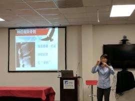 Connie Tsai, Acupuncture Health Talk at TITA in San Jose, CA