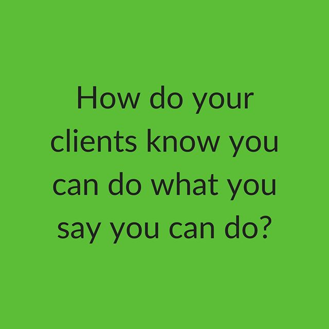 Testimonials, Case Studies, Online reviews and Success Stories. Prove you're as good as you say you are. Share what you've done with the world.
