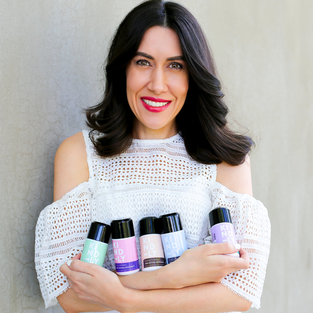 Our Founder - KIND-LY® was conceived after founder and CEO, Lisa Raciti identified a gap in the Australian market for an all natural deodorant, that actually worked. The countless women she spoke to all expressed similar views and frustrations: they all knew the dangers posed by aluminium and other chemical nasties in commercial antiperspirants and wanted to switch to a natural option, but just couldn't find one that worked!Well, necessity is the mother of invention after all, and after persevering through many sweaty rounds of testing formulas, Lisa knew she'd finally struck a winner after rave reviews from her (willing human) testers.  From active girls and guys, firefighters and tradesmen, to gardeners, breast-feeding mums and gym-junkies, KIND-LY deodorant was put through its paces during summertime in Brisbane, Australia. Through the sweltering heat and humidity, it lasted all day long with not even a whiff of B.O! And so, KIND-LY was born.KIND-LY is taking natural deodorant mainstream.  No longer just an