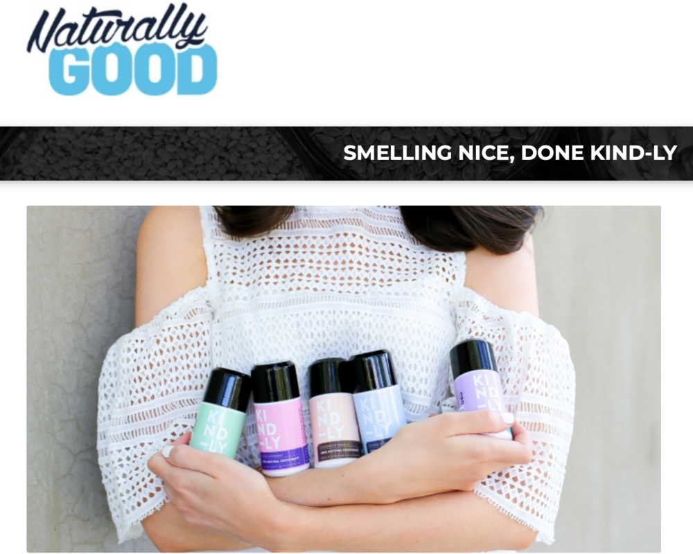 Naturally Good - KIND-LY feature story about exhibiting at Naturally Good Expo 2018.