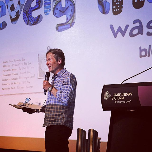 Honoured to receive the Speech Pathology Book of the Year for 'Danny Blue'. Big thanks to #speechpathaus for a lovely event in Melbourne. #speechtherapy #literacy #books #picturebooks #reading