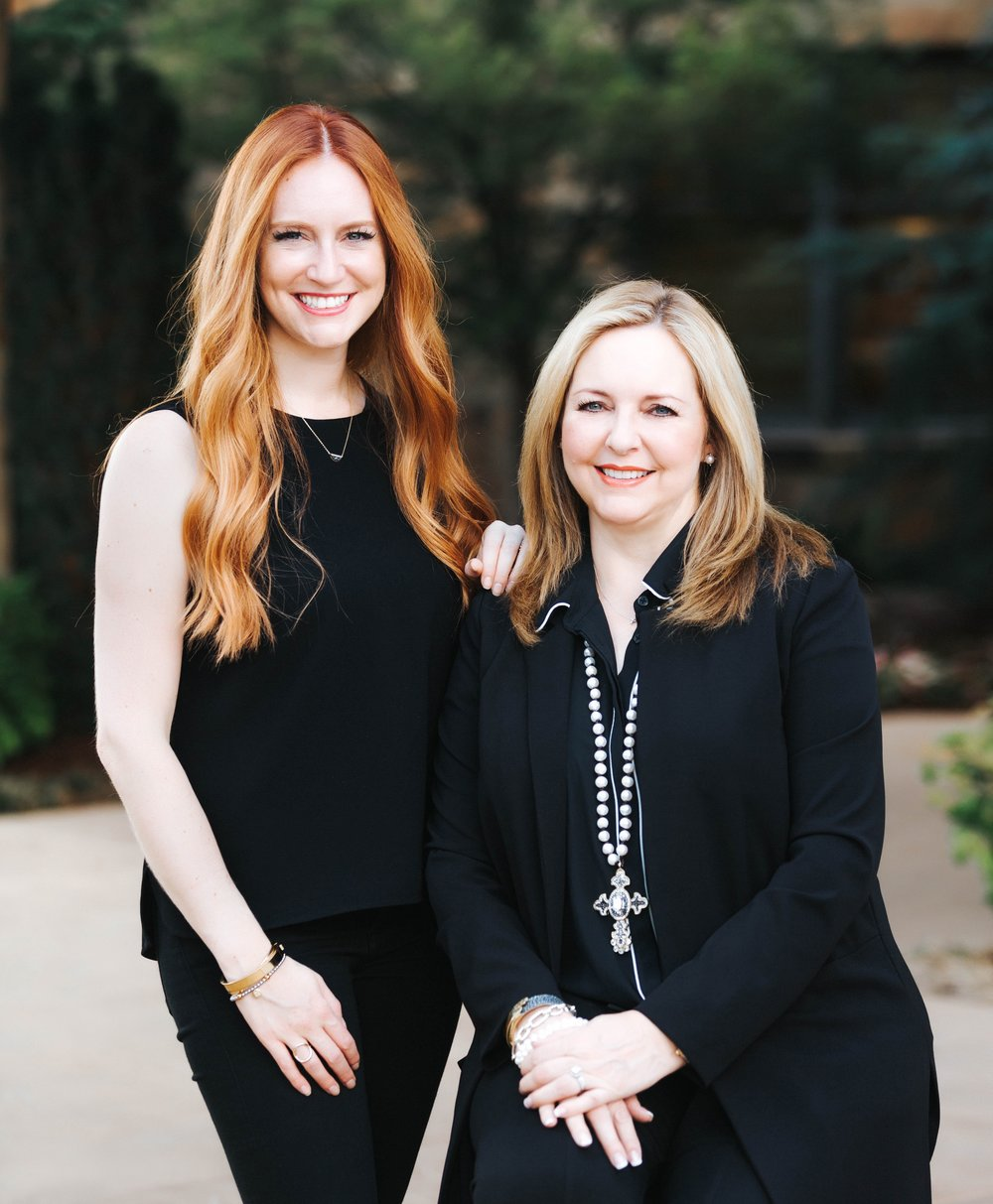 Lauren Green McAfee and her mother, Jackie Green  .