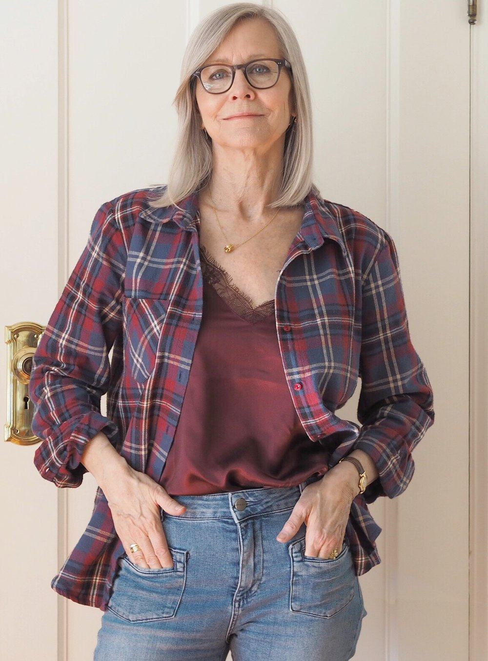 Anine Bing Plaid Shirt.jpg