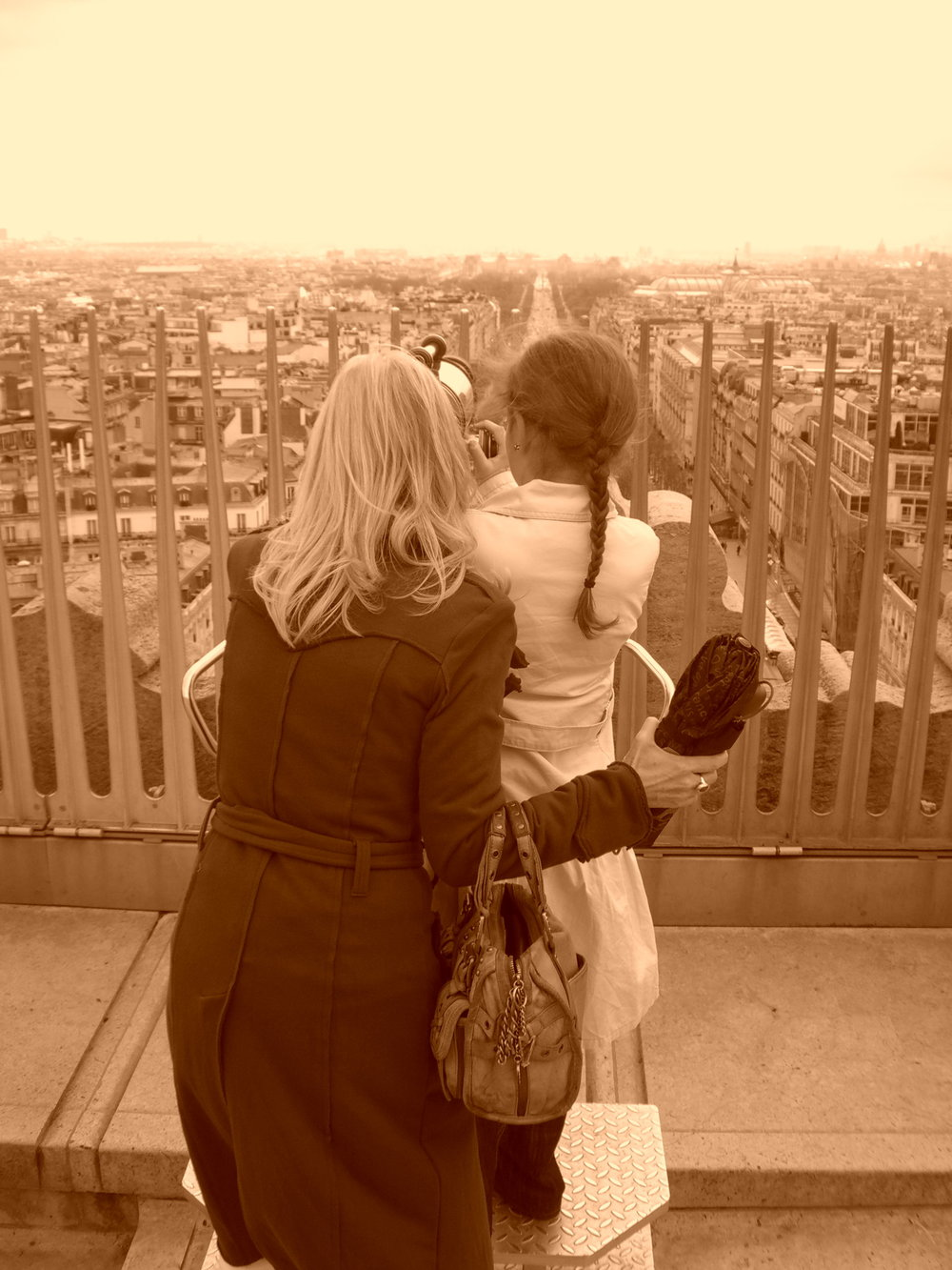 From the Arc de Triomphe.JPG