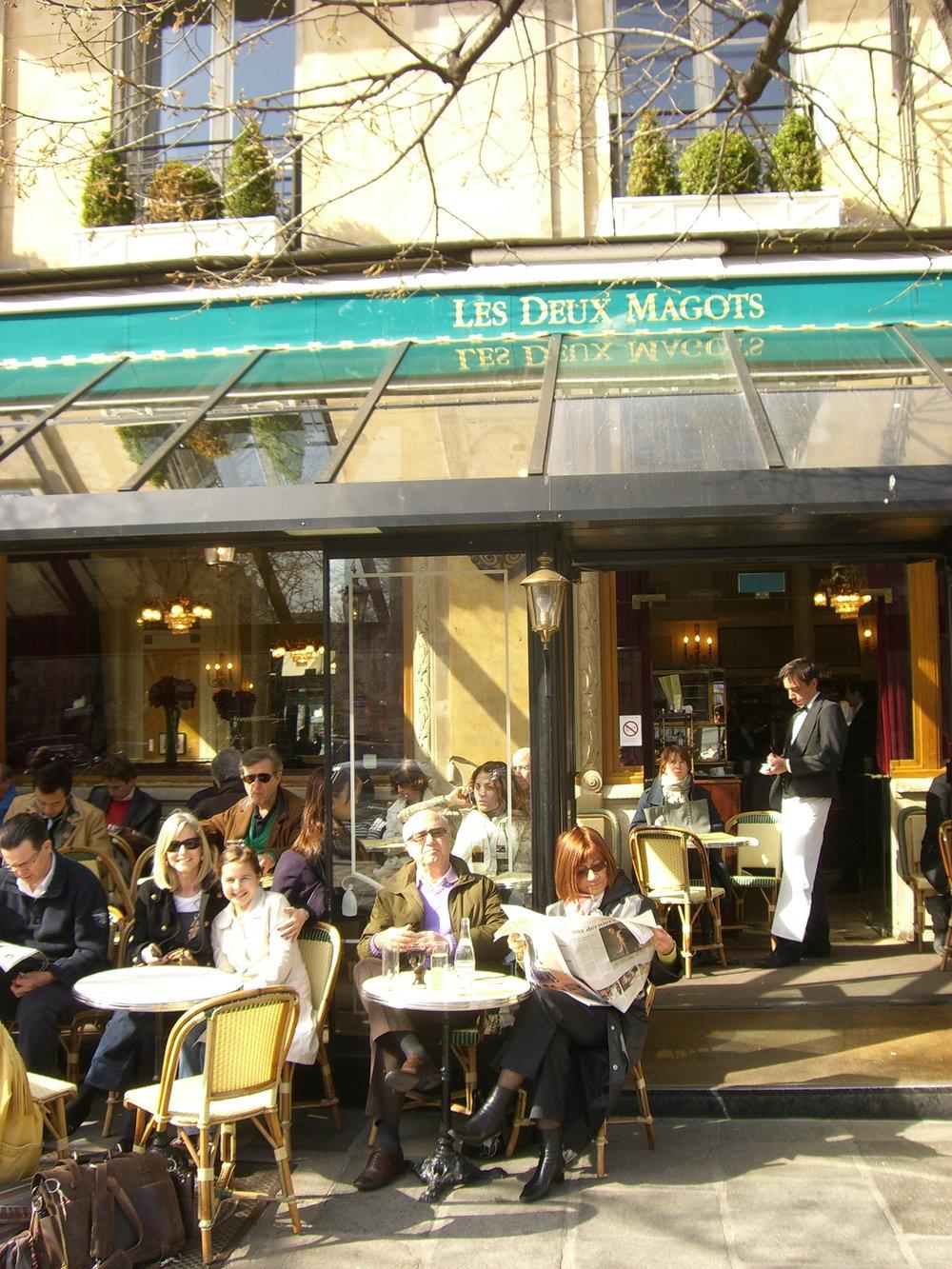 Les Deux Magots Paris 2009.JPG