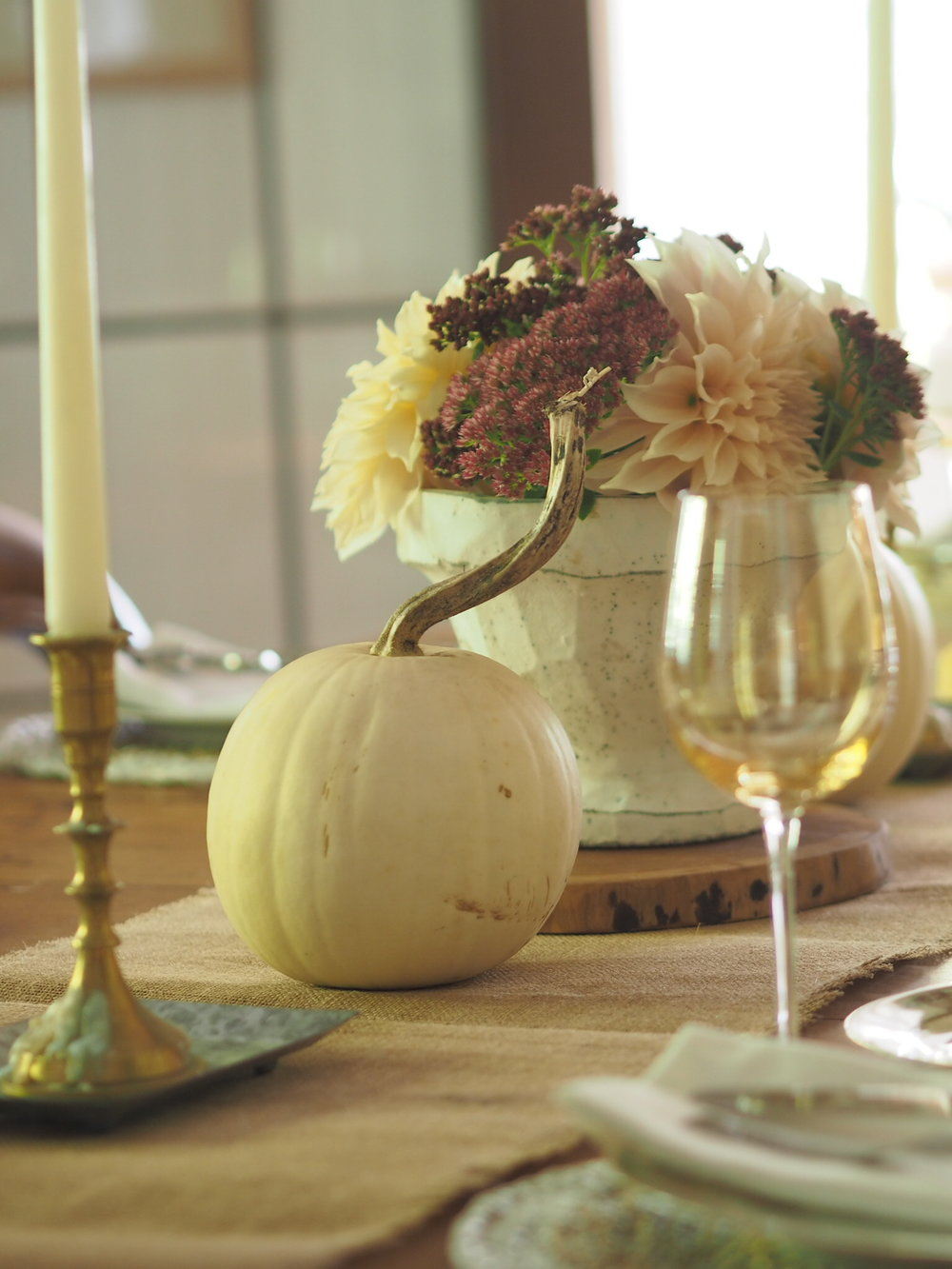 Fall table flowers.JPG