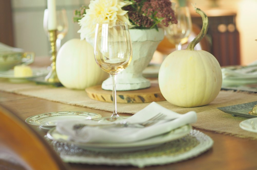 White pumpkin tablescape.JPG