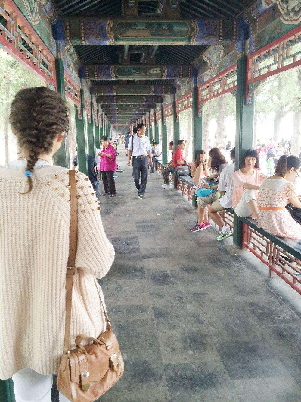 The Long Corridor - The Summer Palace Beijing