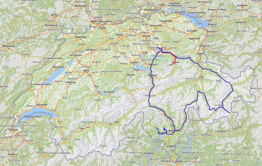 Wild Goose - Travel Map