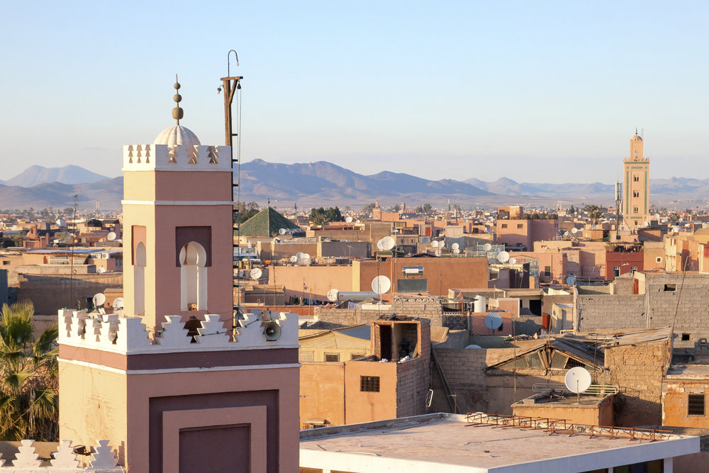Historical city of Marrakech, Morocco