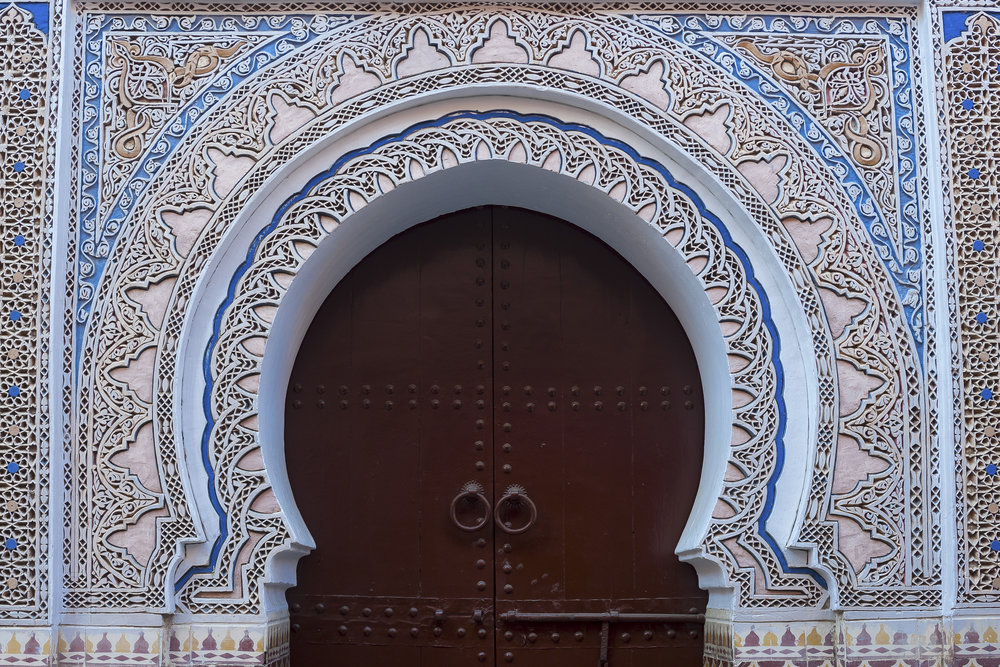 Architectural detail, Marrakech