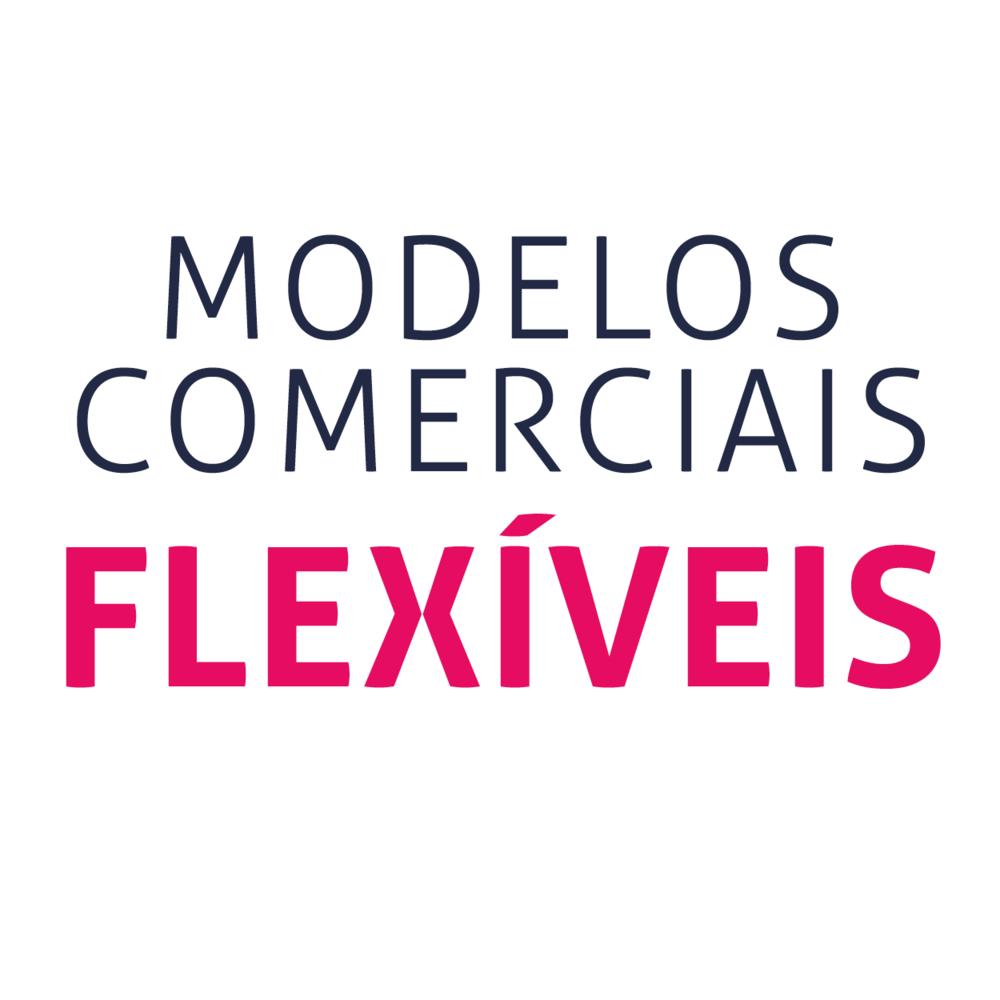 Modelos comerciais flexíveis
