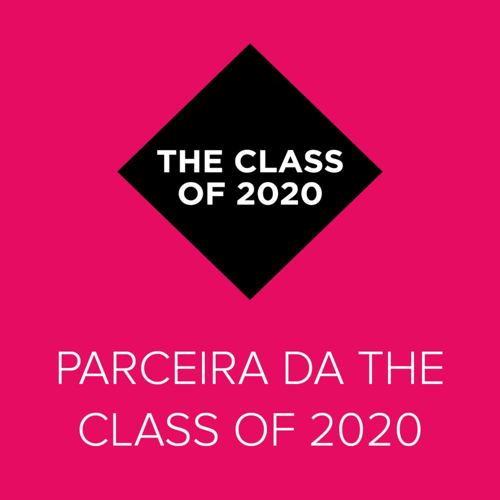 Parceira da The Class of 2020