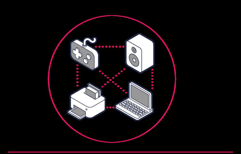 Com o 4Network, os inquilinos criam as suas próprias redes privadas sem fios através da infraestrutura partilhada do edifício. Isto oferece Wi-Fi de alta capacidade em todo o edifício e redes domésticas pessoais e privadas aos seus inquilinos.
