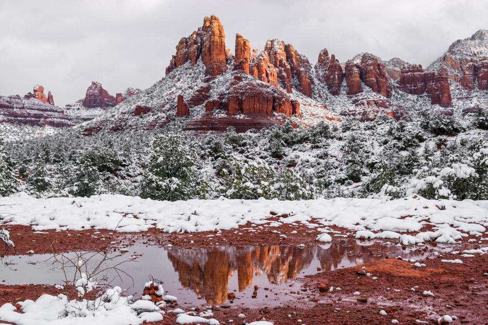Arizona and Utah -