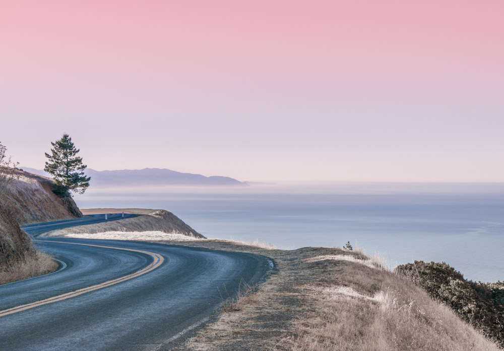 Golden Gate Bridge and Mount Tamalpais -