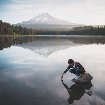 Allan Puls - A photographer from Washington who captures breathtaking images of the Pacific Northwest. Here is his Instagram.In frame: Brittany Edwards