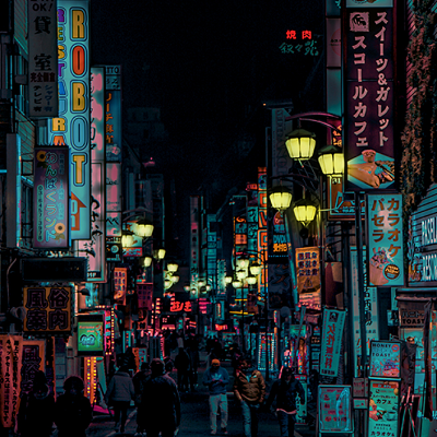 Liam Wong - He captures beautiful nightscapes and turns them into surreal and cyberpunk-like masterpieces. Here is his Instagram and website.