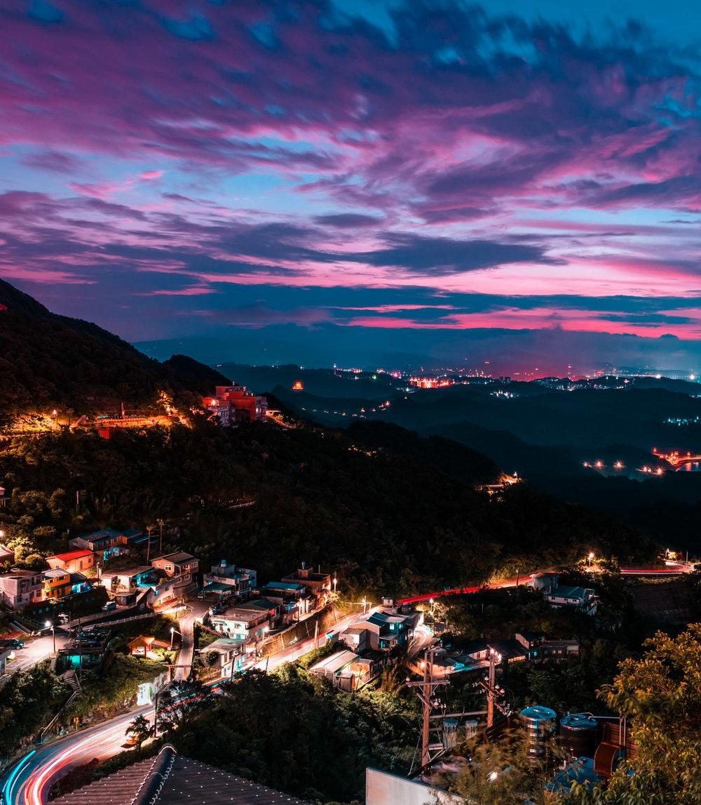 amaris-woo-photography-jiufen-taiwan-sunset-long-exposure