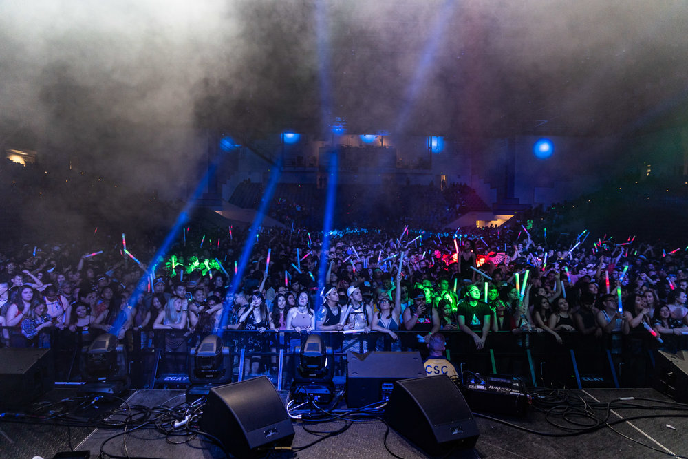 Up & Up Festival ft  Gryffin at SJSU: My first time photographing a