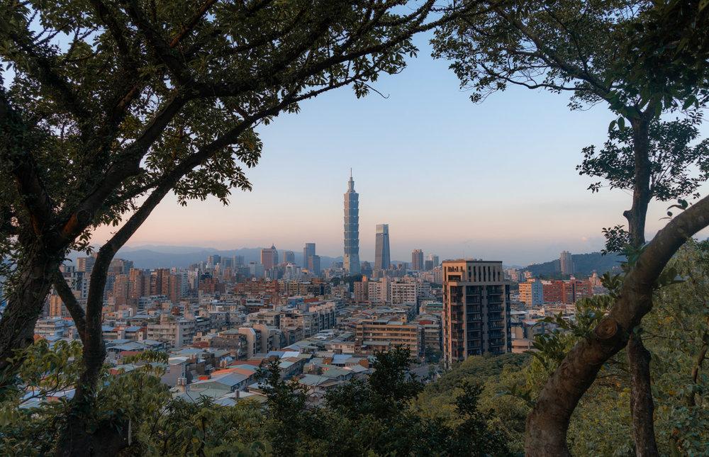 fuzhoushan-taipei-cityscape
