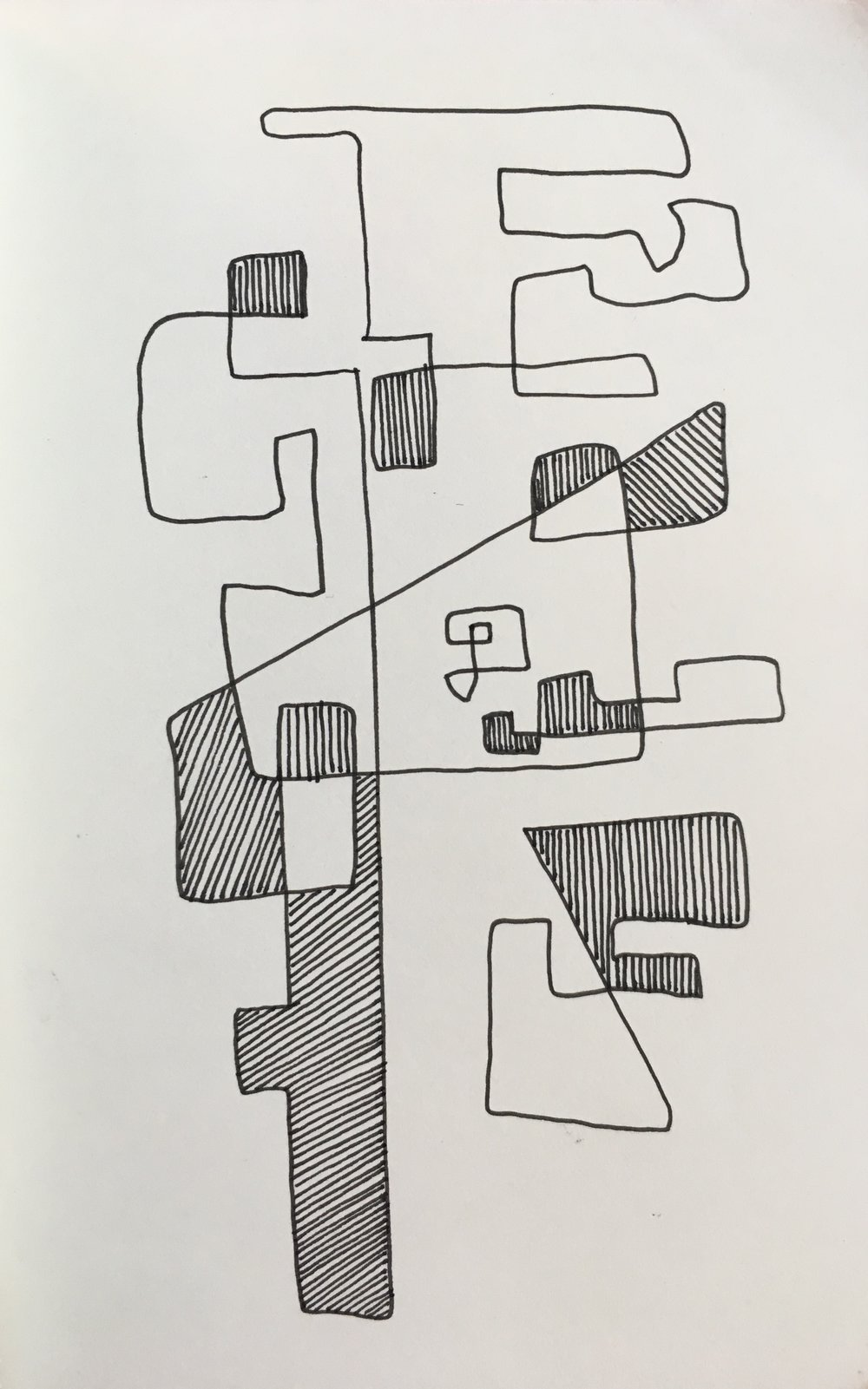 Maze 1, 2015.