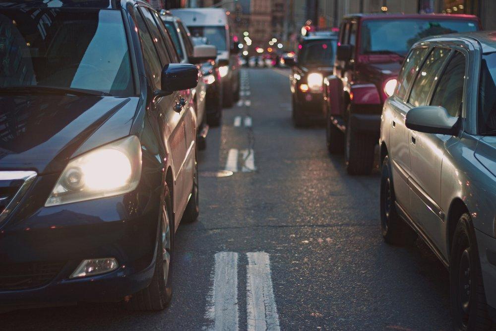 traffic jam in the body