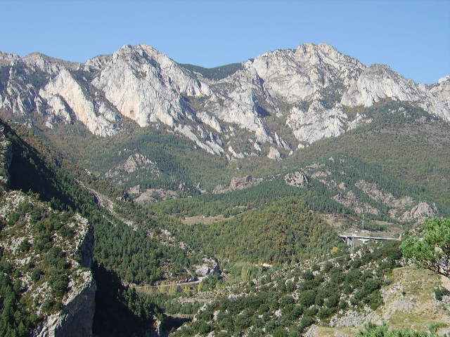 Mountains in Southern Spain